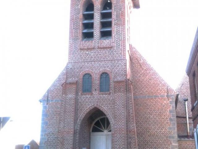 Rénovation de l'église de Bourghelles