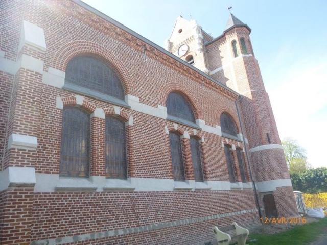 Rénovation église Fontaine sous Montdidier